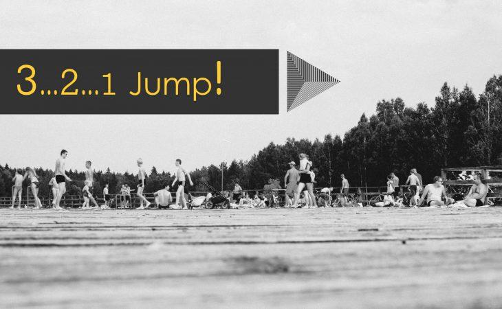 שלוש…שתיים…אחד… Jump!